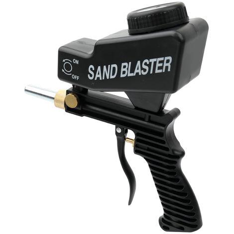 Sand Blaster Gravity Type Spray Mechine Black