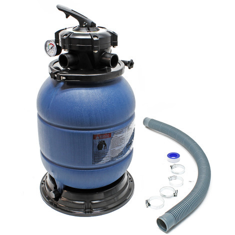 Sand Filter Tank Above Ground Swimming Pool Spa Water Filtration