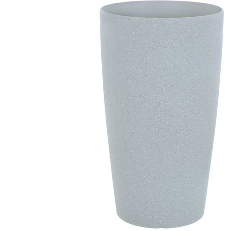Sand Stone Effect Round Plant Pot Grey 41cm