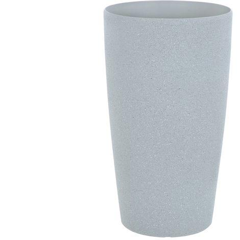 Sand Stone Effect Round Plant Pot Grey 56cm