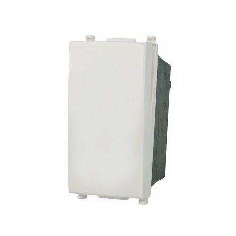 SANDASDON Interruttore 1P 16A Unipolare Bianco Compatibile Vimar Plana