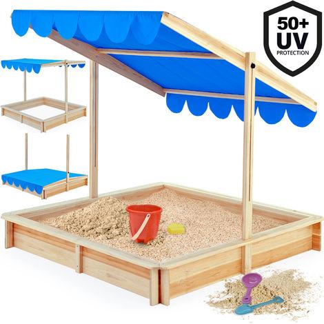 Sandbox 140 X 140 Cm Height Adjustable Swiveling Sun