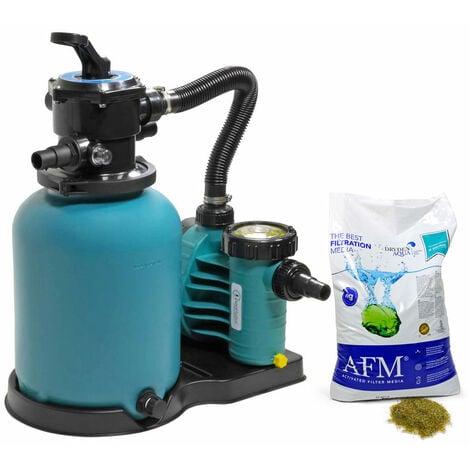 Sandfilter BRILLANT+ 300, AquaPlus 6 + AFM Filtermaterial