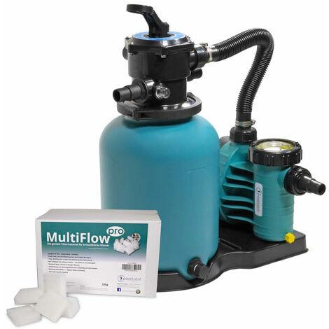 Sandfilter BRILLANT+ 300, AquaPlus 6 + MultiFlow