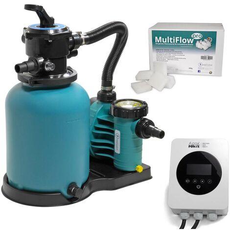 Sandfilter BRILLANT+ 300, AquaPlus 6, MultiFlow + Energy Saver