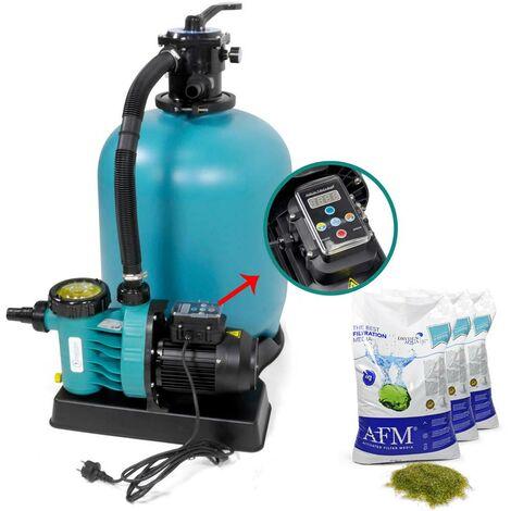 Sandfilter ENERGY+ 500, Aqua Vario Plus + AFM Filtermaterial