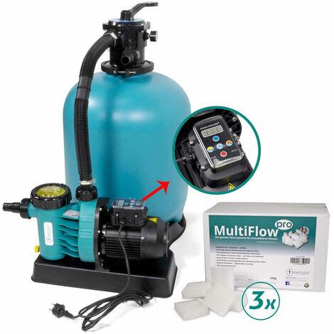Sandfilter ENERGY+ 500, Aqua Vario Plus + MultiFlow