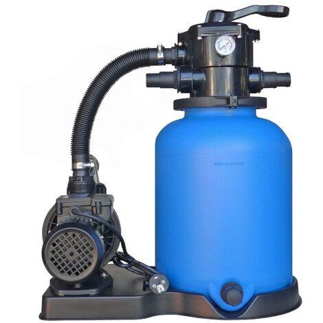 Sandfilteranlage ECO mit SPS-100-1 Pumpe 8m³/h bis 48m³ 22917510