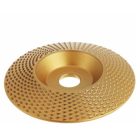 "main image of ""Sanding Carbide Angle Grinder Cutting Golden Bevel 98mm"""
