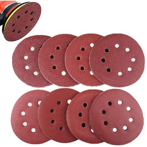 """main image of """"Sanding Disc, Pack of 80 Nylon Sandpaper for Eccentric Sander Ø 125 mm Abrasive Discs"""""""