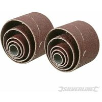 Sanding Sleeves 10pce - 80 Grit (675076)