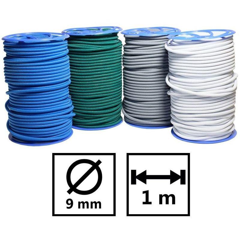 10 m d/'elastique blanc 8mm de large