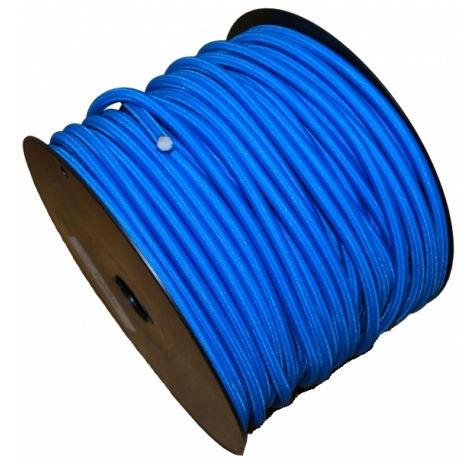 Sandow gaine en polyéthylène VISO - bleu - Ø 6 mm - vendu au mètre linéaire - SL607NB