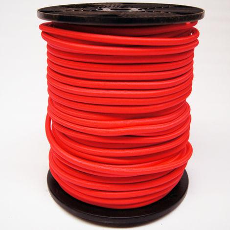 Sandow gaine en polyéthylène VISO - rouge - Ø 10 mm - vendu au mètre linéaire - SL107NB