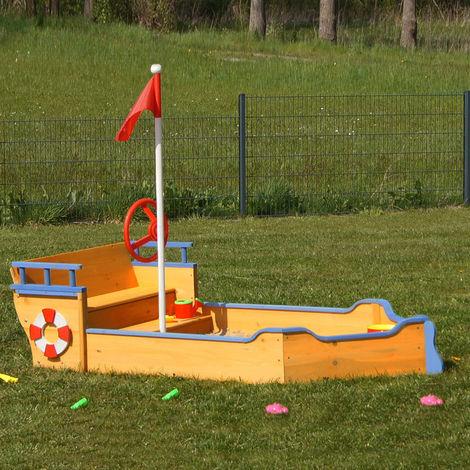 Sandpit boat