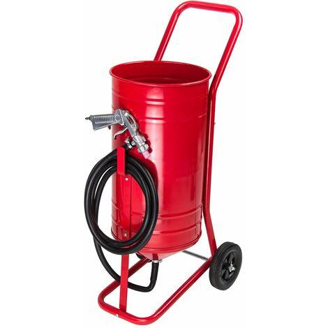 Sandstrahlgerät Sandstrahler Sandstrahlanlage Mobil 30 Liter Dema SSGM 30
