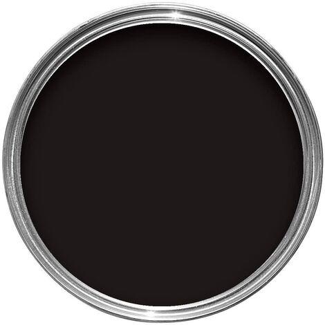 "main image of ""Sandtex 150ml Tester Smooth Masonry Paint Black"""