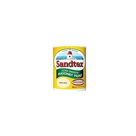 Sandtex 2.5 Litre Ultra Smooth Masonry Paint Brick Red