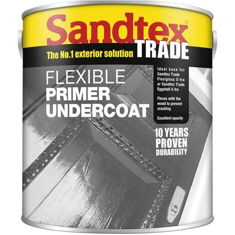 Sandtex Flexible Primer Undercoat - Charcoal Grey - 1L