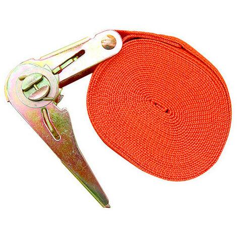 Sangle à cliquet tendeur 25 x 5 000 mm - XL Perform Tools