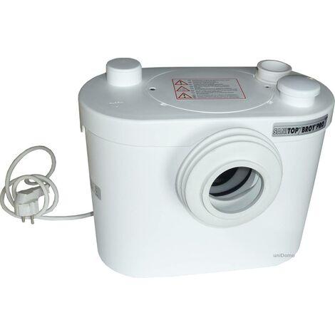 SANIBROYEUR Pro UP pompe pour WC et Lave-mains - Lavabo; Nouveau