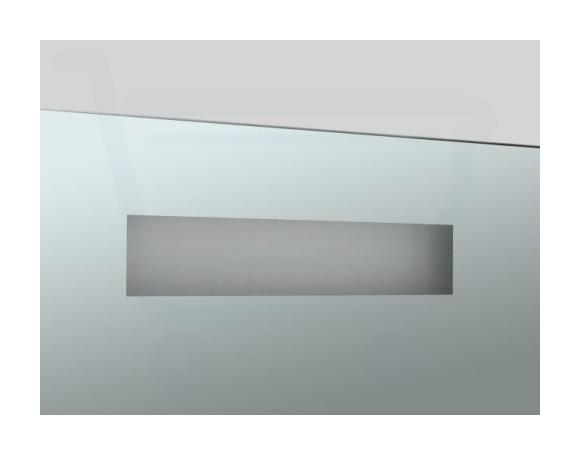 Saniclass Exclusive Line Miroir Radio avec éclairage 80x70cm - SW2754