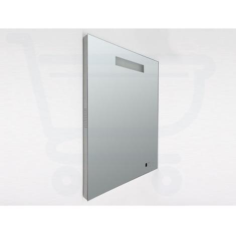 Saniclass Exclusive Line Miroir Radio Avec éclairage 80x70cm