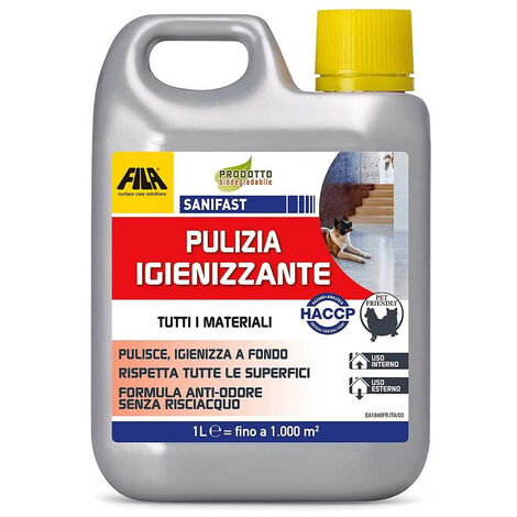 Sanifast pulizia igienizzante 1 Lt Fila