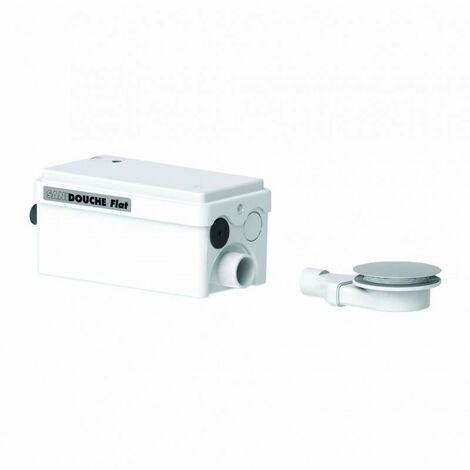 Saniflo 1043/3 SANISHOWER Flat Pump for Low Level Shower Tray Cubicle & Basinsss