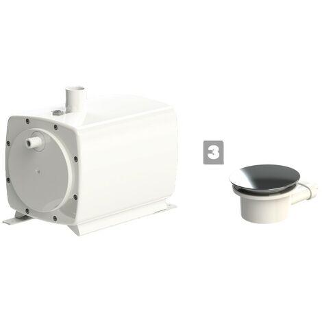 "main image of ""Saniflo SANIFLOOR 3 Shower Waste Pump Wet Room + 90mm Waste for Shower Trays"""