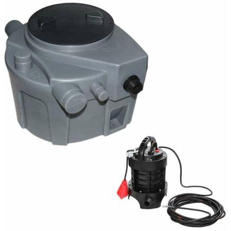 SANIFOS 110 Abwasserhebeanlage als Standgerät Hebeanlage Überflur WC Waschmaschine usw.