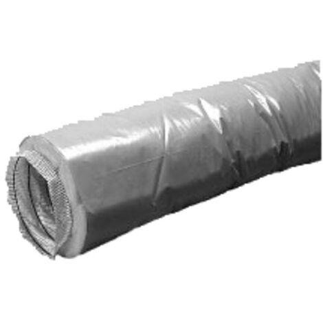 Sanitäres Zubehör mechanische Belüftung - Isolierter Schlauch M1 mechanische Belüftung Durchmesser 80mm (Lg. 6m) - UNELVENT