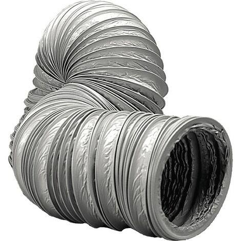 Sanitäres Zubehör mechanische Belüftung - Schlauch mechanische Belüftung Durchmesser 125mm (Länge 6m)