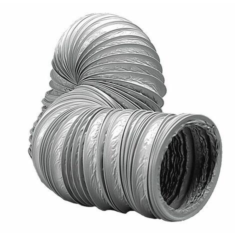 Sanitäres Zubehör mechanische Belüftung - Schlauch mechanische Belüftung Durchmesser 80mm (Länge 6m)