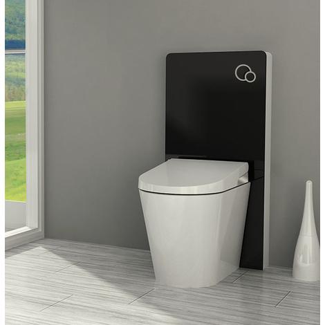 Sanitärmodul für Stand-WC inkl. Betätigungsplatte