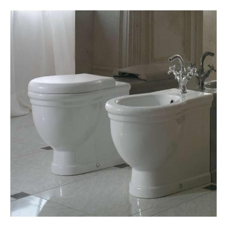 Ceramica Globo Serie Paestum.Sanitari Classici Filoparete Ceramica Globo Paestum Wc Bidet Sedile Tipo Sedile Sedile Chiusura Tradizionale