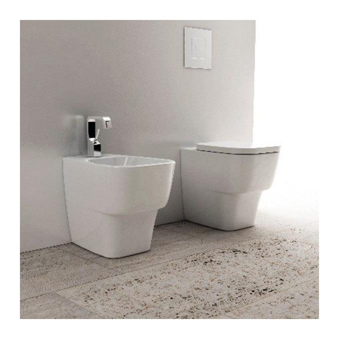 Faleri Ceramica Sanitari Spa.Sanitari Filo Parete Ceramica Domus Falerii F50 Small Wc Bidet Sedile Softclose