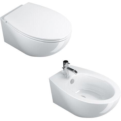 Sanitari Sospesi Ceramica Catalano Velis 57 Smalto Cataglaze Design ...