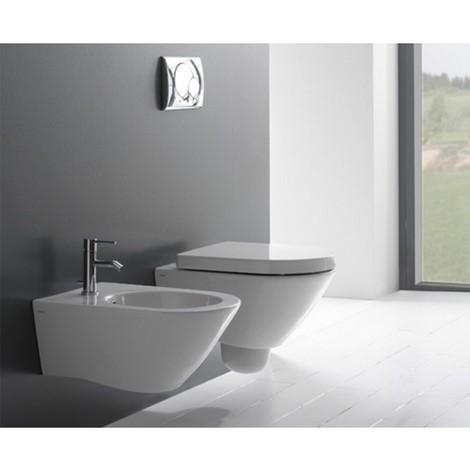 Sanitari sospesi Ceramica Globo Concept wc + bidet + sedile - SC49.BI