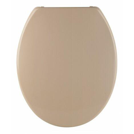 Sanitop Toilettendeckel Siena beige Absenkautomatik WC-Sitz Klobrille Klositz