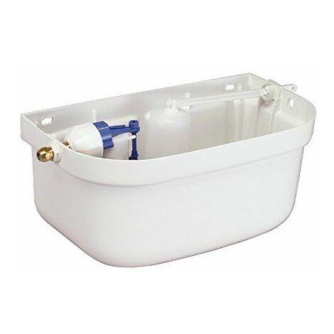 Sanitop-Wingenroth hochhänge Réservoir de chasse WC, sans couvercle, plastique, 6l, 1pièce, blanc, 213905
