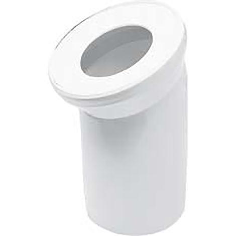 Sanitop-Wingenroth WC / Toiletten Anschlussrohr 90 Grad weiß