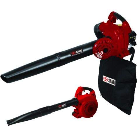 Sanli Handheld Petrol Blower / Vac - 3 in 1 - Leaf Blower, Vacuum and Shredder - SASBT26
