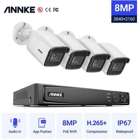 SANNCE 1080p HD CCTV DVR Security Camera System with 8CH 5MP Super HD DVR For Home Outdoor Indoor Video Surveillance Kits 8 Cameras