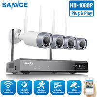 SANNCE 1080P Wireless Security Camera System