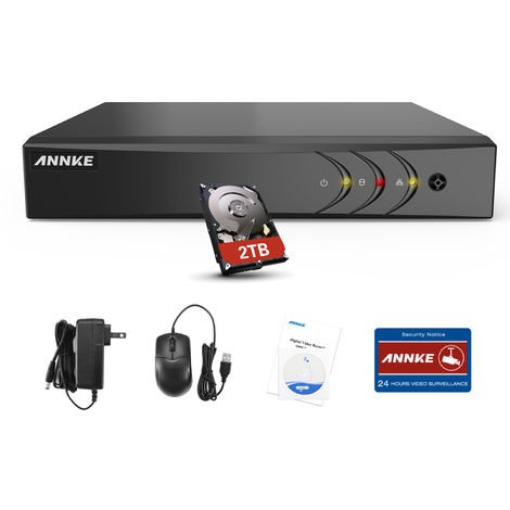 SANNCE 16CH 1080N 720P HD Security System With 16 Dome Cameras