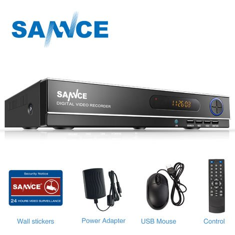 SANNCE 8-Channel CCTV Security Camera System