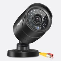 SANNCE 800TVL Security CCTV Bullet camera for Surveillance system, 100ft 30m Super Night Vision, 3.6 MM Lens Weatherproof IP66 Casing