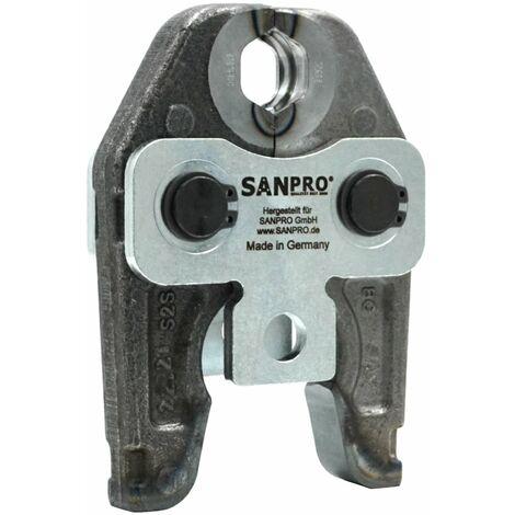 SANPRO Pressbacken/Presszangen V12-35 - Z.B. Kupferfittings + Kupferrohr Pressen
