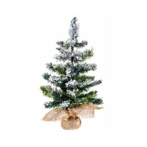Sapin artificiel floqué neige - 50 cm - Blooming - Livraison gratuite